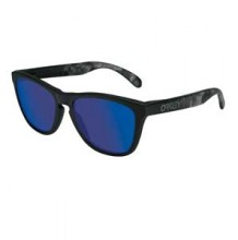 Oakley-Frogskins-Soft-Touch-Skulls-Blue-Iridium