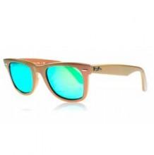 RAY-BAN-2140-Wayfarer-crema-lente-verde-claro-degradado